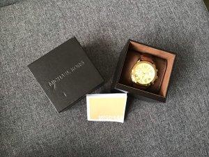 Uhr mit Cognac Lederarmband Michael Kors