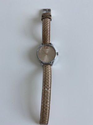 Uhr mit Lederband