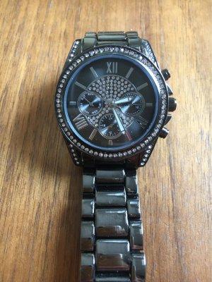 Bijou Brigitte Montre avec bracelet métallique gris-argenté