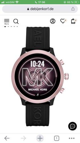 Michael Kors Reloj digital negro-color rosa dorado