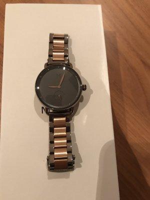 MVMT Montre avec bracelet métallique bronze-noir