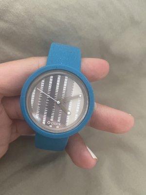 Uhr obag blau