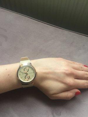Zegarek automatyczny piaskowy brąz-nude