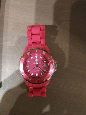 Uhr pink Forest