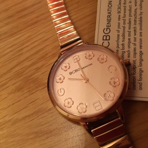 BCBGeneration Watch With Metal Strap rose-gold-coloured-light pink