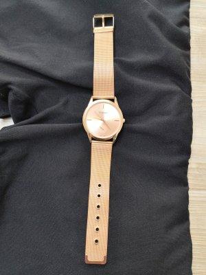 Uhr Roségold Modeschmuck Armbanduhr Metall