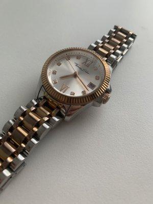 Thomas Sabo Zegarek z metalowym paskiem srebrny-w kolorze różowego złota