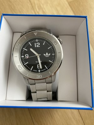 Adidas Watch With Metal Strap grey
