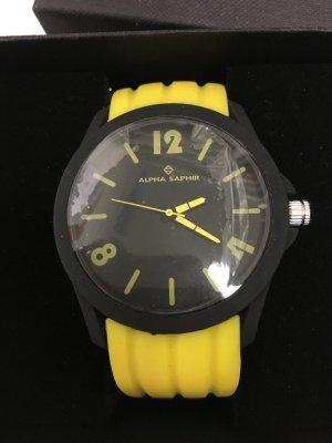 Alpha Saphir Zegarek żółty