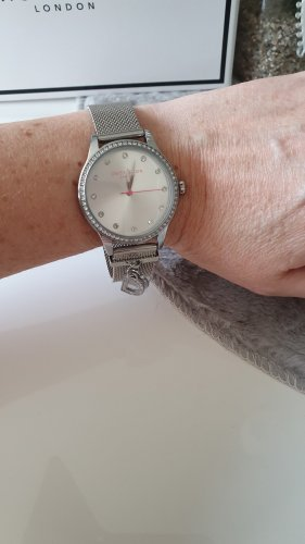 Daisy London Watch With Metal Strap silver-colored