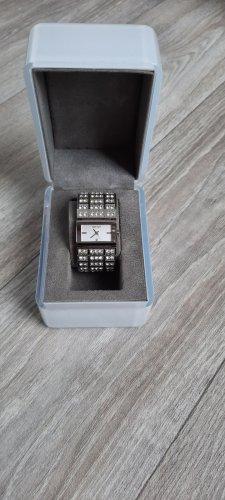 DKNY Orologio con cinturino di metallo argento