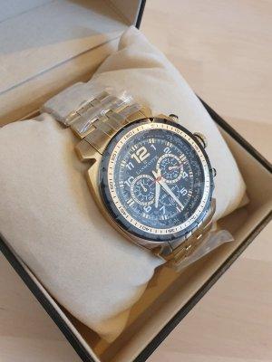 Actuel Modell Horloge met metalen riempje goud
