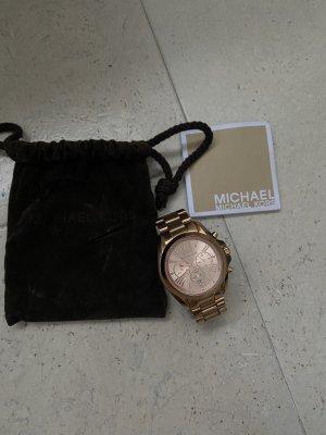 Michael Kors Orologio con cinturino di metallo rosa pallido-oro