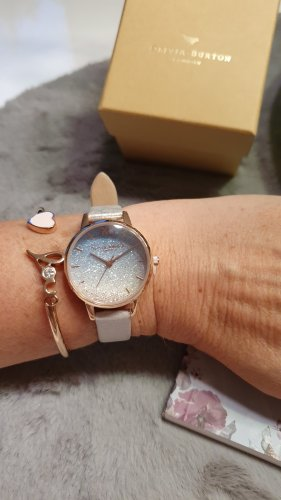 Olivia Burton Watch With Leather Strap multicolored
