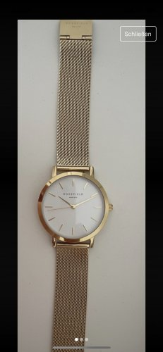 ROSEFIELD Analog Watch gold-colored
