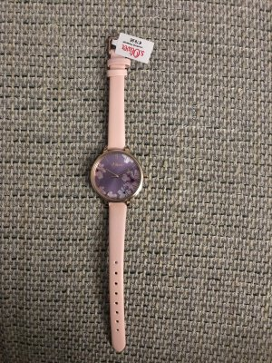 s. Oliver (QS designed) Analog Watch light pink