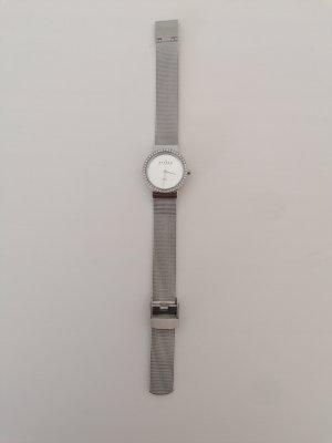 Skagen Reloj con pulsera metálica color plata