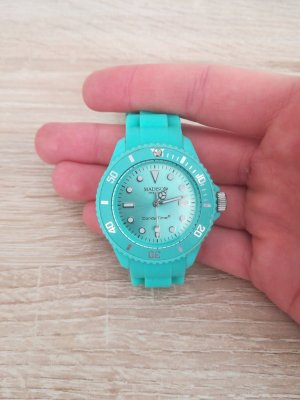 Candy Time by Madison New York Digital Watch turquoise