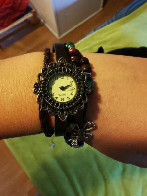 Zegarek automatyczny brązowy