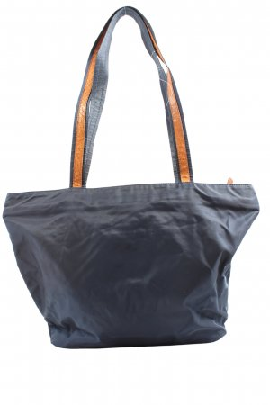 Uli Knecht Pouch Bag blue casual look