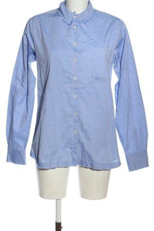 Uli Knecht Long Sleeve Shirt blue casual look