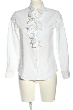 Uli Knecht Ruffled Blouse white business style