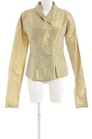 Uli Schneider Long-Blazer goldfarben extravaganter Stil