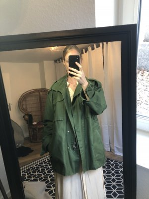 H&M Military Jacket forest green