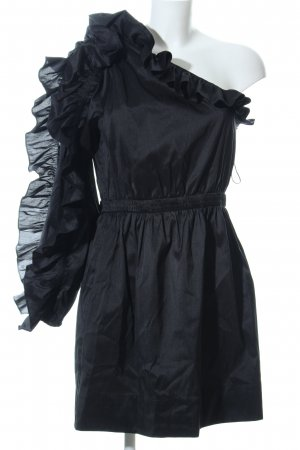 Ulla Johnson One-Shoulder-Kleid schwarz extravaganter Stil