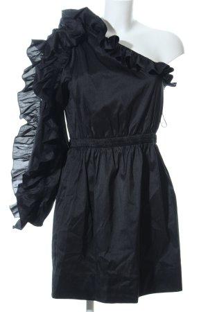 Ulla Johnson One Shoulder Dress black extravagant style