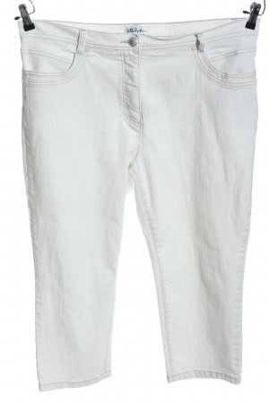 Ulla Popken 3/4 Jeans hellgrau Casual-Look