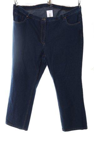 Ulla Popken 3/4 Jeans blau Casual-Look