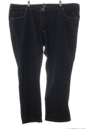 Ulla Popken 3/4 Jeans schwarz Casual-Look