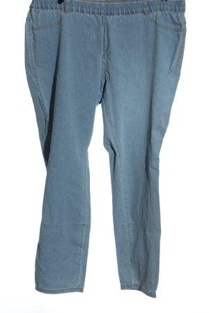 Ulla Popken 7/8-jeans blauw casual uitstraling