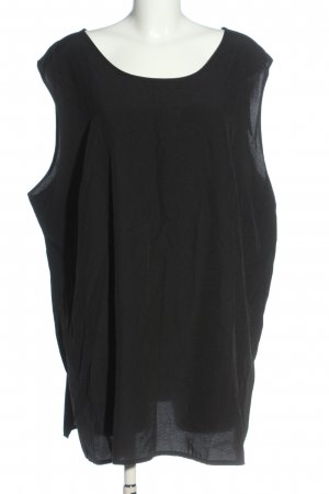 Ulla Popken Sleeveless Blouse black casual look