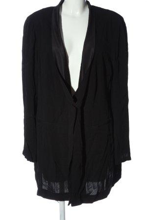 Ulla Popken Blouse Jacket black business style