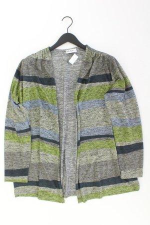 Ulla Popken Cardigan Größe 44 gestreift mehrfarbig aus Polyester