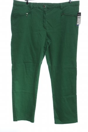 Ulla Popken High Waist Trousers green casual look
