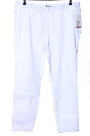 Ulla Popken High Waist Jeans weiß Casual-Look