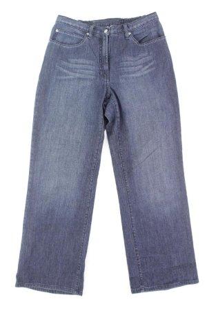 Ulla Popken Jeans Größe 42 blau aus Baumwolle