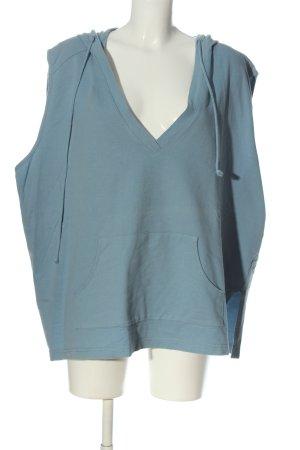 Ulla Popken Hooded Sweatshirt blue casual look