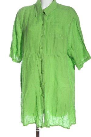 Ulla Popken Short Sleeve Shirt green casual look