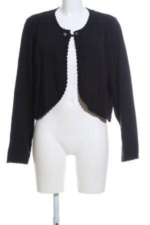 Ulla Popken Short Jacket black casual look