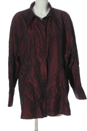 Ulla Popken Camicia a maniche lunghe rosso stile casual