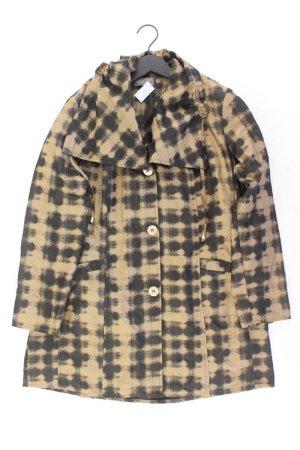 Ulla Popken Lange Jacke Größe 42/44 braun aus Polyester