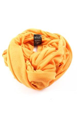 Ulla Popken Scaldacollo arancione chiaro stile casual