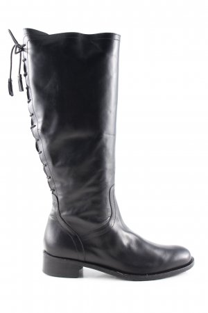 Ulla Popken Lace-up Boots black casual look