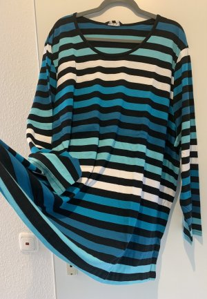 Ulla Popken Stripe Shirt multicolored cotton