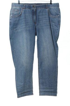 Ulla Popken Slim jeans blauw casual uitstraling