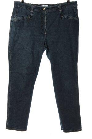 Ulla Popken Jeans slim fit blu stile casual